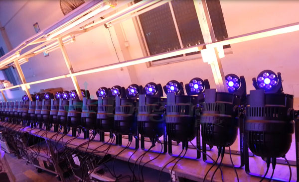 Ledmemove F1 Endless Rotating led Moving Head production line