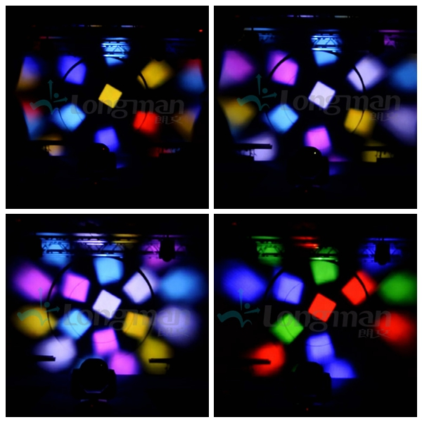 Lorentz Transform 19 moving head light effect
