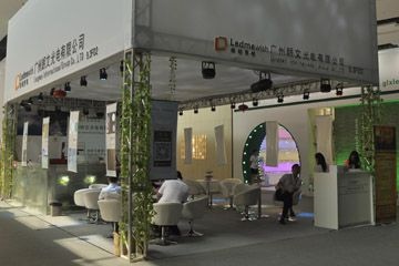 2015.6.9-12 Guang Ya Exhibition:outdoor effect light, led par light, linear wash lighting, wall washing lighting