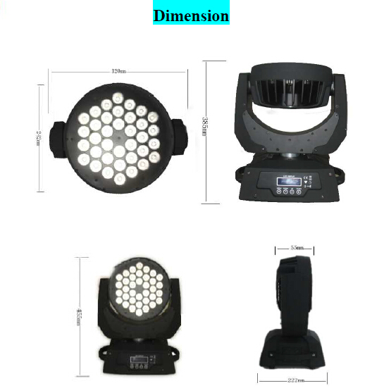 Loby 600 led moving head product