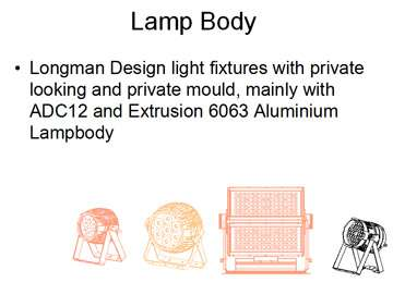 longman product design: stage lighting,moving head, led wall washering, led par can