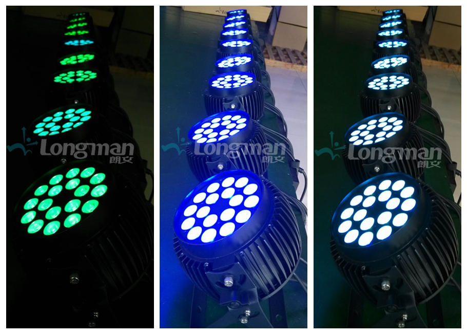 Parco R450 led par light color one