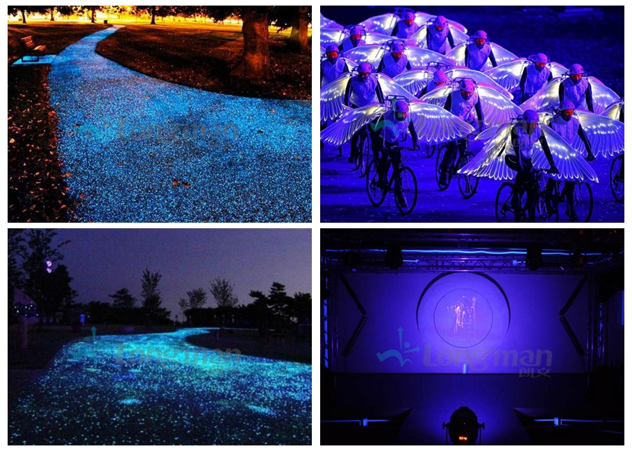ultraviolet light, black light, led balck light, LED par light, stage light, stage lighting, outdoor light, outdoor lighting, led light