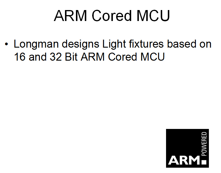 ARM core MCU design