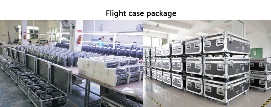 choose our flight case package