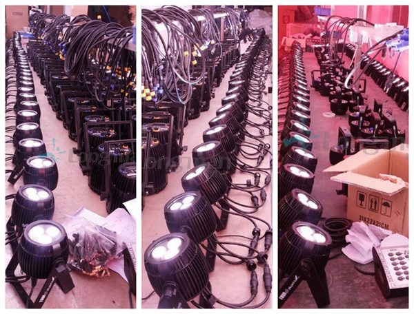 Bowerbird X3-outdoor LED par can production lines