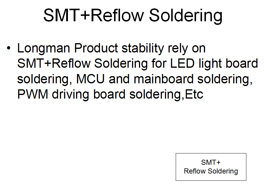 smt and reflow soldering