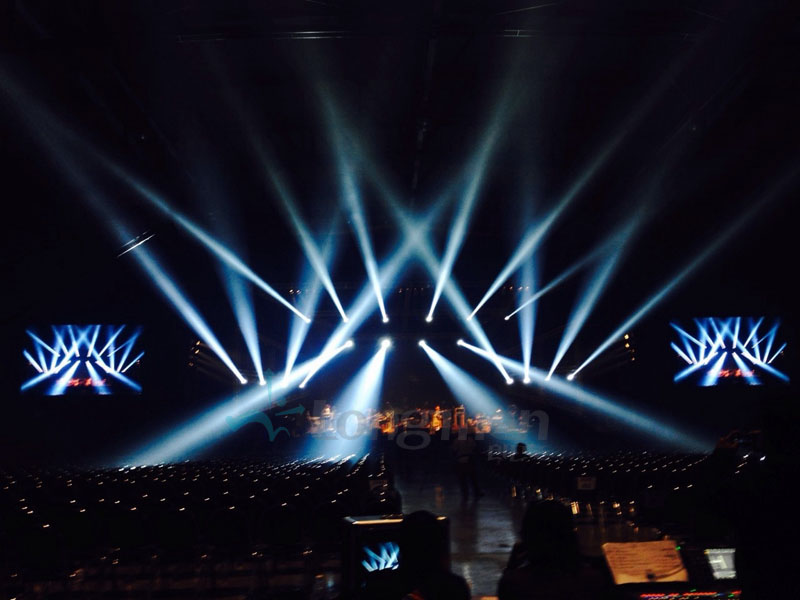 Thailand Light And Sound Design Project Longman Stage Lighting