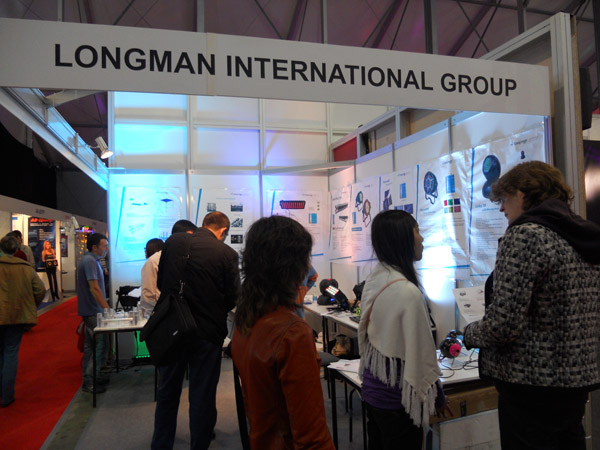 2010 Russia lighting exhibition longman stand