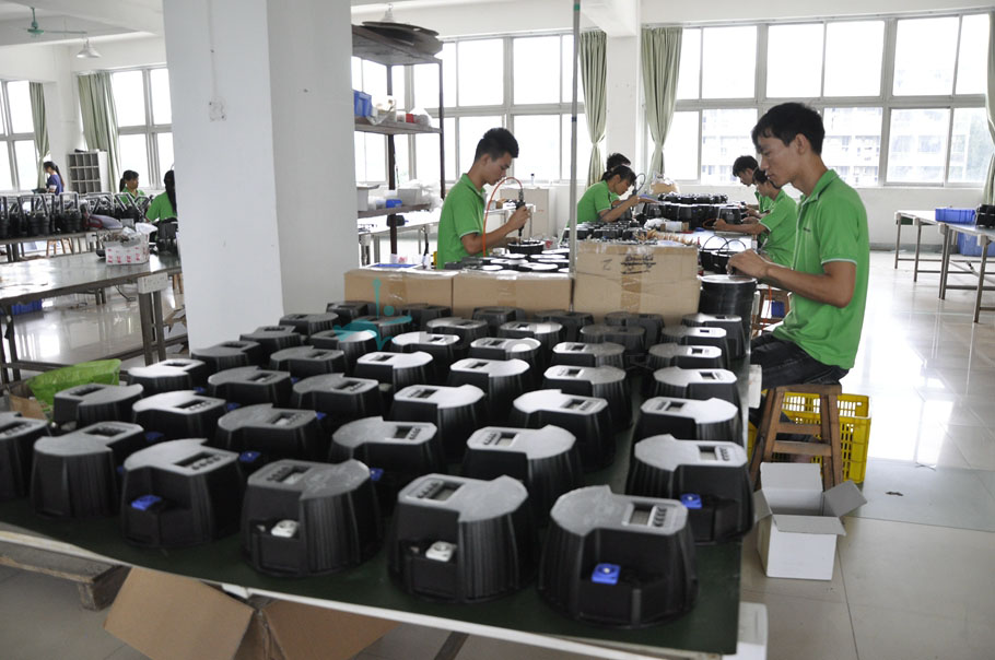 assembly for led stage lighting