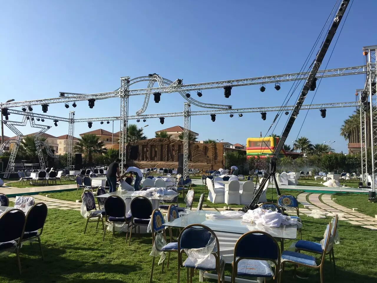 3m Length 300 Aluminum Spigot Type Square Stage Lighting Truss
