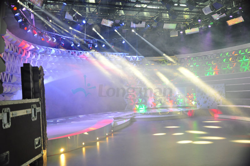 Site Record Studio Show In Brazil Longman Stage Lighting