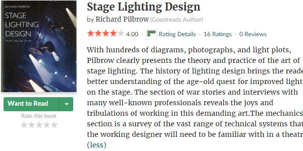 Stage Lighting Design The Art the Craft the Life  sc 1 st  Longman lighting & Stage Lighting Books Recommendations - Longman Stage Lighting azcodes.com