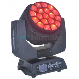 Lorentz Transform 19 LED Beam Eye Moving Head Light