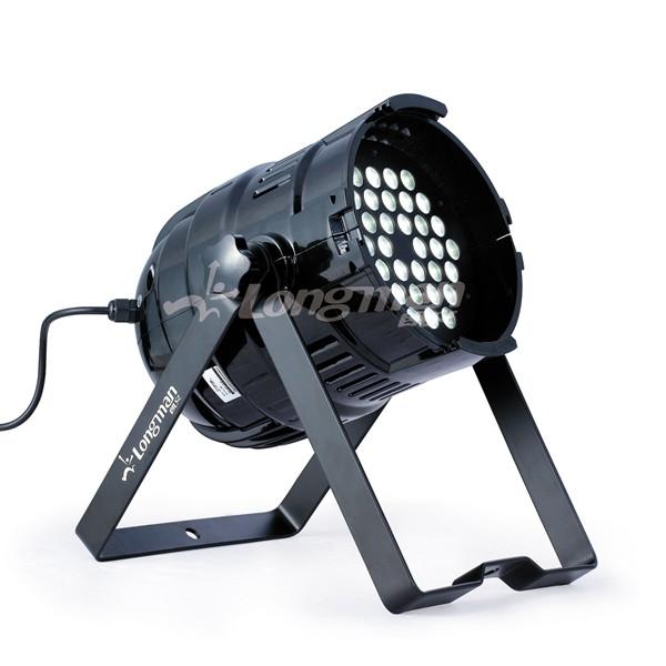 f300udmx indoor cree xpg white led par 64 light longman. Black Bedroom Furniture Sets. Home Design Ideas