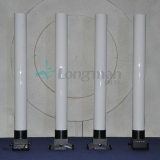 1.5m acrylic tube and iron sleeve for led par light